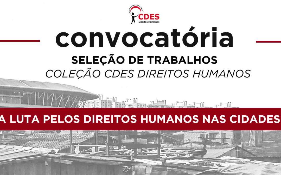 Convocatória Coleção CDES Direitos Humanos